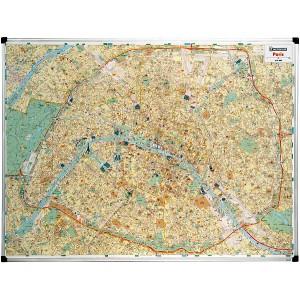 Plan de Paris magnétique