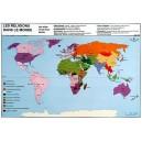 Les Religions dans le monde 102x70 cm