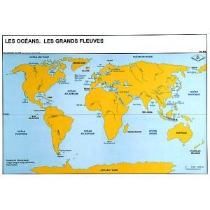 Océans et grands fleuves du monde