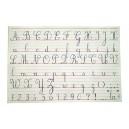 Réglure et Alphabet plastifiés 102x70 cm