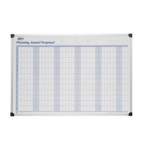 Planning annuel perpétuel magnétique 90x60 cm