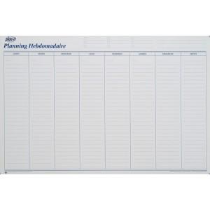 Planning hebdomadaire perpétuel 90x60 cm