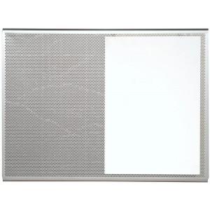 Panneau 3 usages : punaises, aimants et écriture effaçable à sec - 60x45 cm