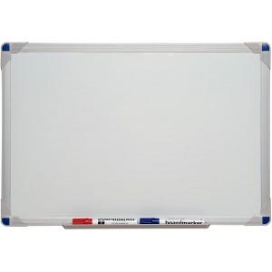 Tableau blanc effaçable à sec émaillé - 90x60 cm